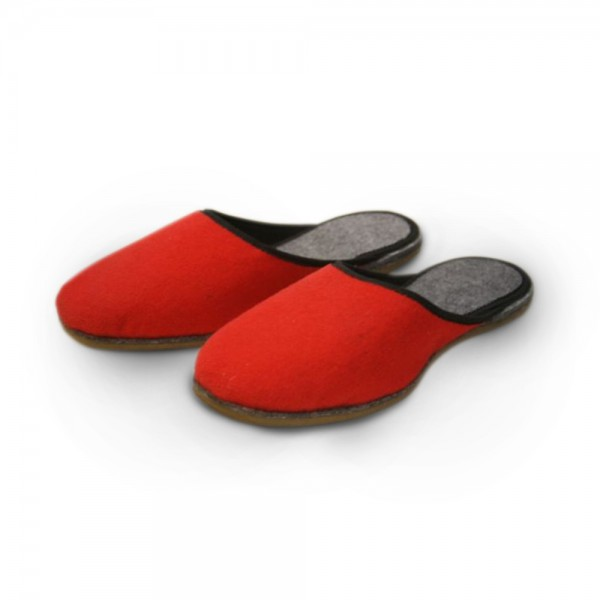 Pantoffel in rot (UP16)